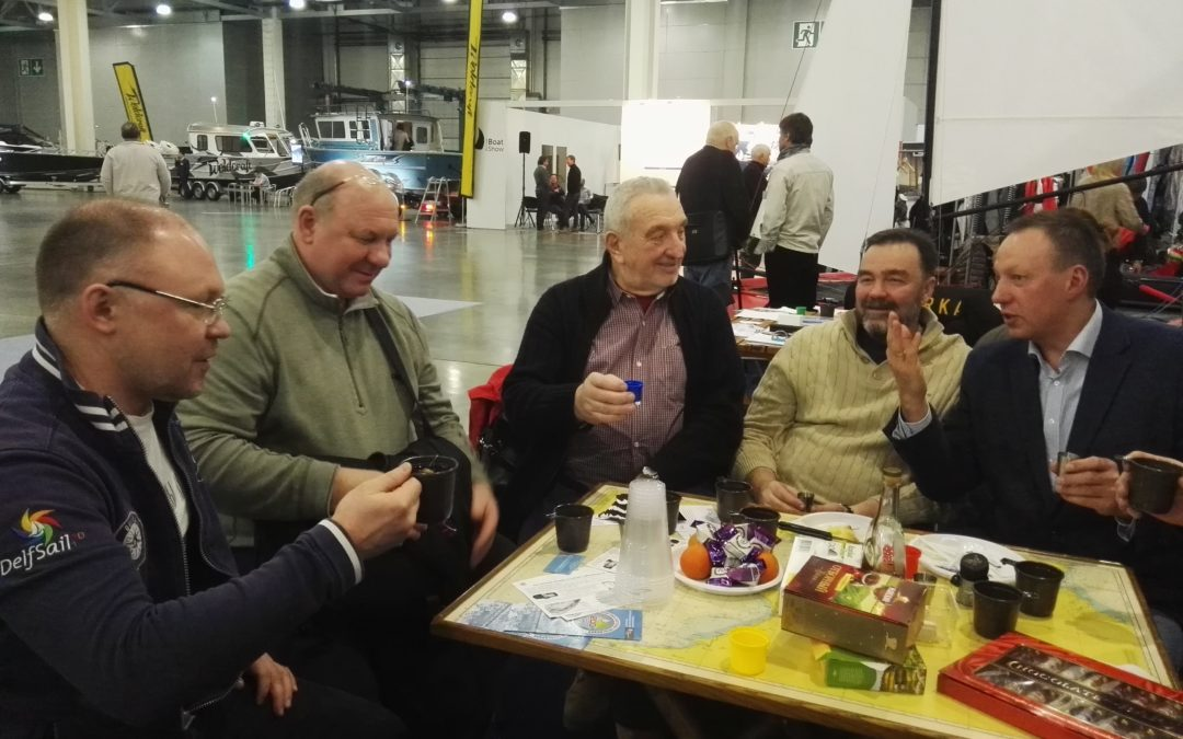 "Стенд ФПС МО посетили ""Аристократы морей"""